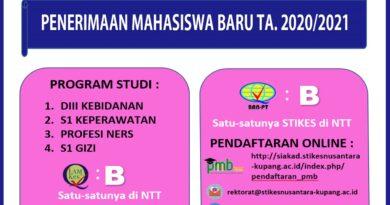 Nusantara Project M@B@ Tahun Akademik 2020/2021