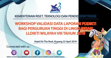 Nusantara Project PDDIKTI (Pangkalan Data Pendidikan Tinggi) di LLDIKTI Wilayah VIII